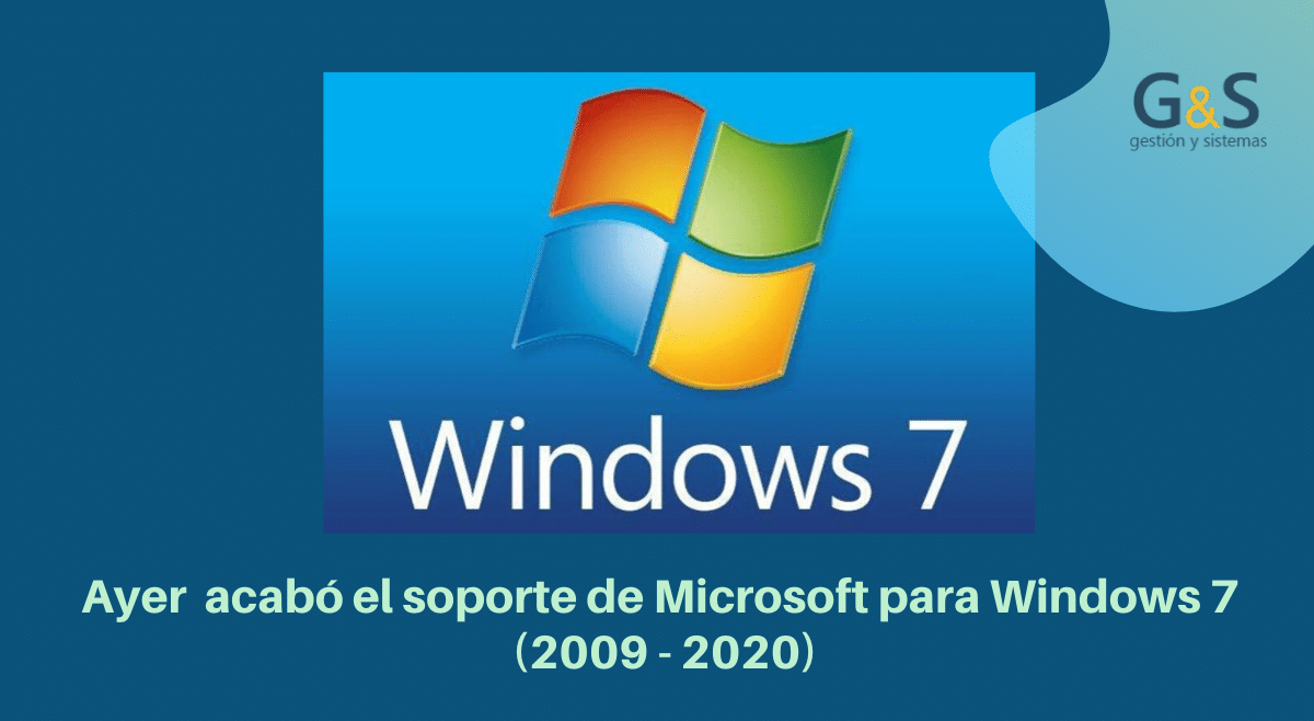 fin de soporte windows7